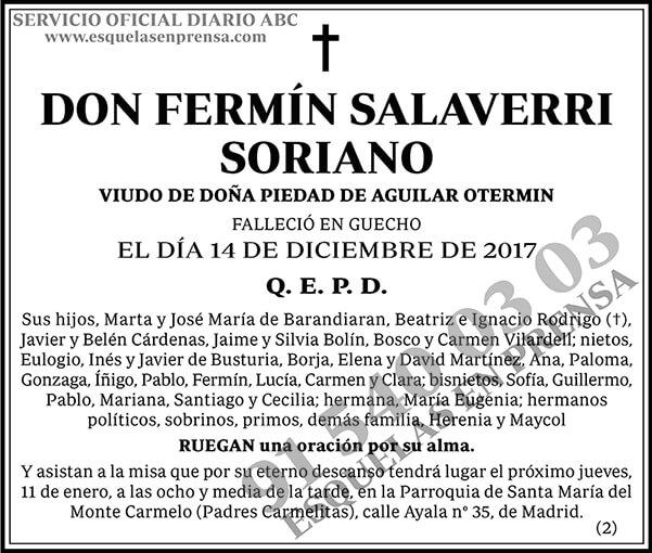 Fermín Salaverri Soriano